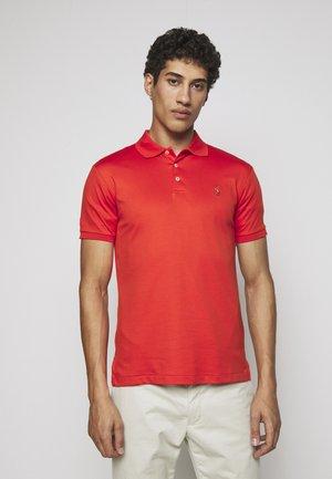 Polo shirt - orangey red
