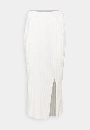 LOA SKIRT - Pouzdrová sukně - solid