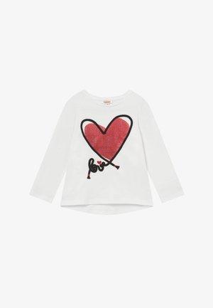 TEE  - Camiseta de manga larga - neige