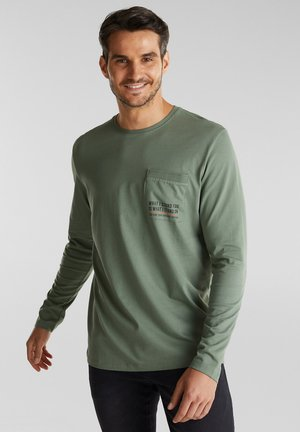 Langarmshirt - light khaki