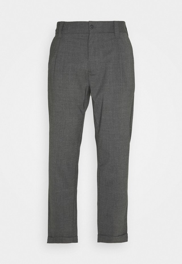 TAYLOR PANT DIAMOND - Chino - light grey heather rigid