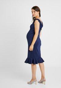 Chi Chi London Maternity - OAKLEE DRESS - Vestito estivo - blue - 2
