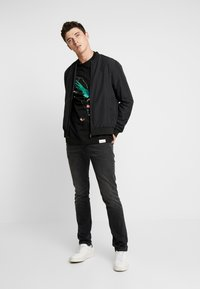 Diamond Supply Co. - PERCHED TEE  - Long sleeved top - black - 1