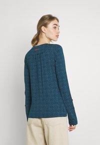 Ragwear - PINCH STARS - Long sleeved top - denim blue - 2