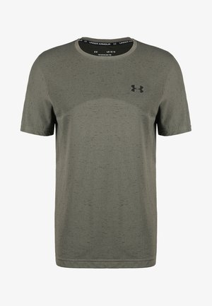 SEAMLESS  - T-shirt con stampa - gravity green