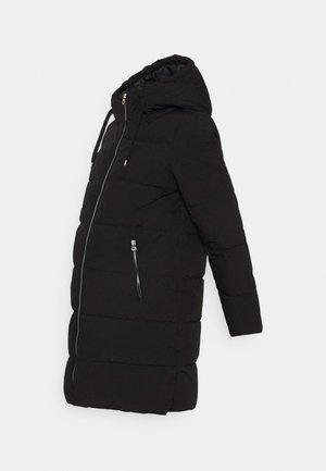 OLMDOLLY LONG PUFFER COAT - Winter coat - black