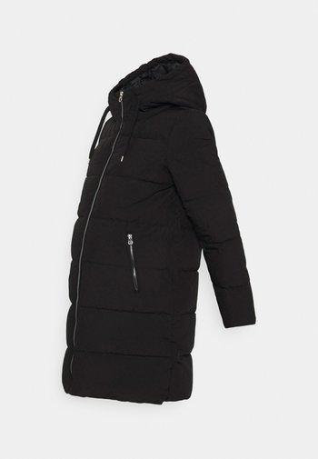 OLMDOLLY LONG PUFFER COAT - Zimní kabát - black