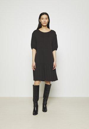 JENNIFER DRESS - Trikoomekko - black