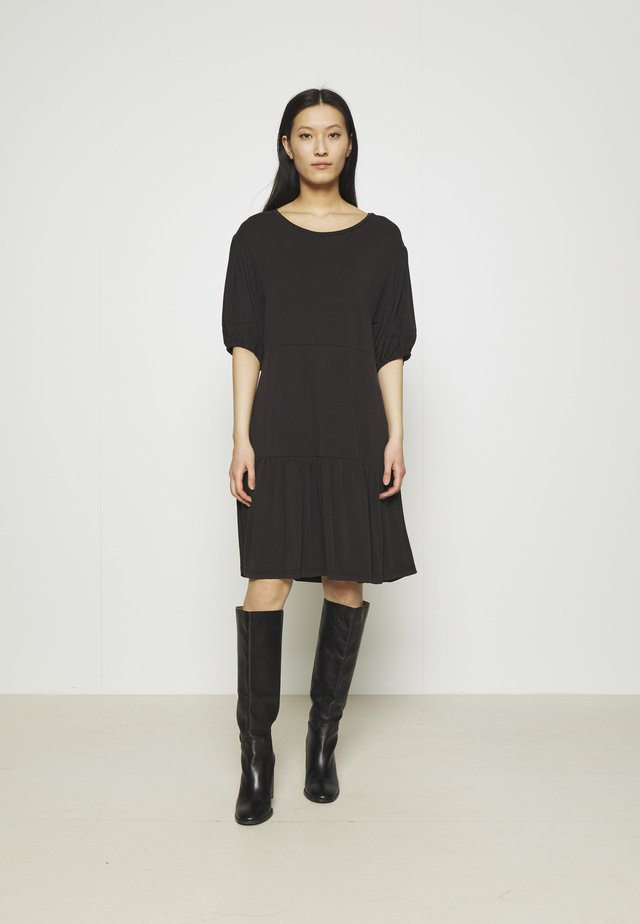 JENNIFER DRESS - Robe en jersey - black