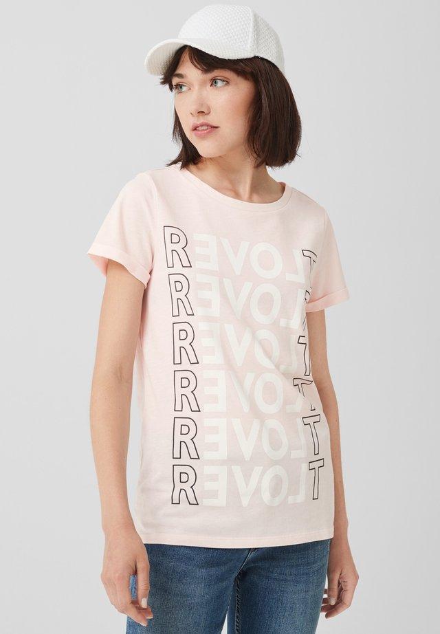 INSCRIPTION - Print T-shirt - light pink