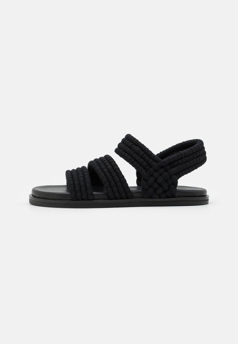 ARKET - SANDALS - Sandaalit nilkkaremmillä - black