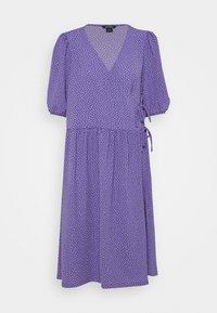 Monki - Day dress - lilac/purple medium dusty - 4