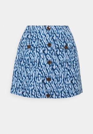 GOOD LOVE SKIRT - Áčková sukně - indigo