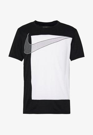 SUPERSET  - Camiseta estampada - black/white