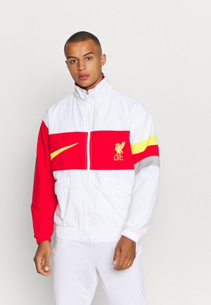 LIVERPOOL FC HERITAGE - Training jacket - white/rush red/wolf grey/chrome yellow