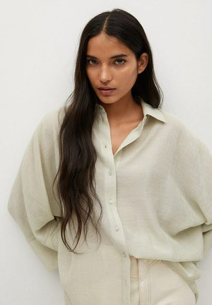 TOMMY-A - Button-down blouse - vert pastel