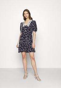 River Island - Shirt dress - dark blue - 1