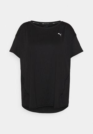 TRAIN FAVOURITE TEE PLUS - T-shirts - black