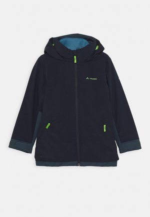 KIDS CASAREA 3IN1 JACKET II - Outdoor jacket - eclipse