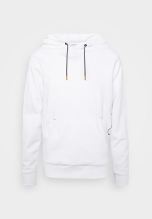 VERTICAL SIDE LOGO HOODIE - Sweat à capuche - white