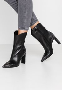Bruno Premi - High heeled ankle boots - nero - 0