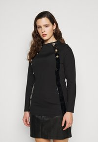 River Island Plus - Long sleeved top - black - 0