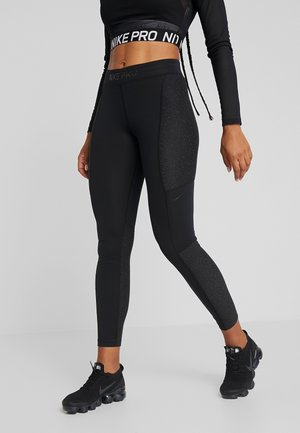 WARM HOLLYWOOD - Legginsy - black/clear
