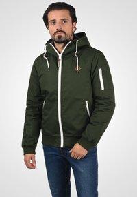 Solid - TILLY - Light jacket - olive - 0