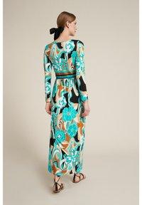 Luisa Spagnoli - Maxi dress - var turchese/geometrico - 1