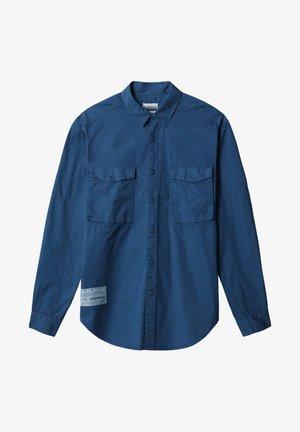 Skjorta - poseidon blue