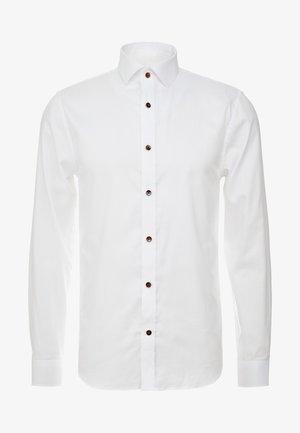TROSTOL - Kostymskjorta - white