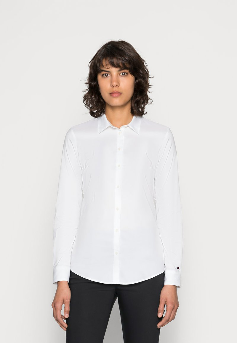 Tommy Hilfiger - HERITAGE SLIM FIT - Button-down blouse - classic white