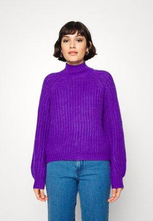 YASULTRA HIGH NECK - Jumper - ultra violet