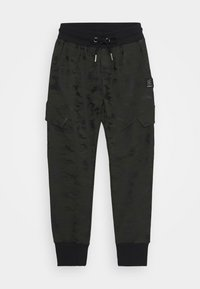 Blue Effect - BOYS CARGO HOSE - Tracksuit bottoms - army green - 0