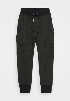 BOYS CARGO HOSE - Tracksuit bottoms - army green