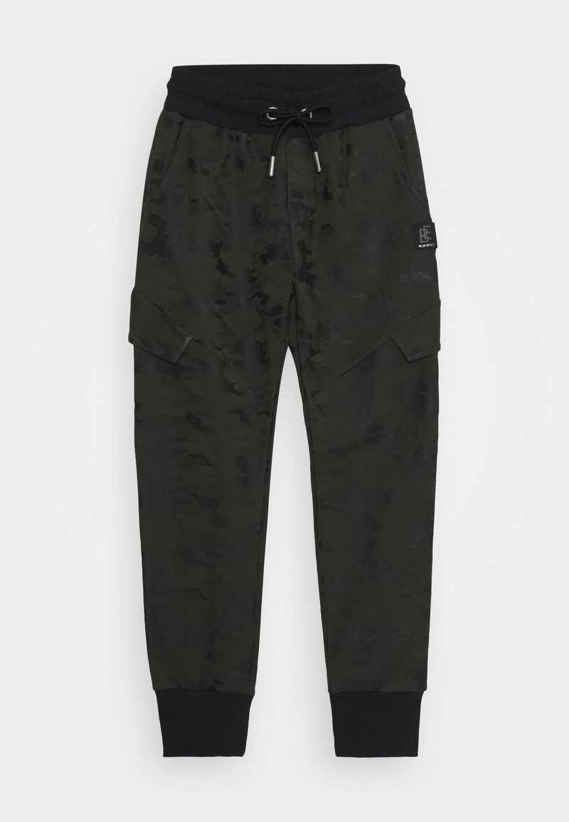 Blue Effect - BOYS CARGO HOSE - Tracksuit bottoms - army green