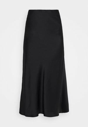 ISLA MIDI SKIRT - Maxi skirt - black