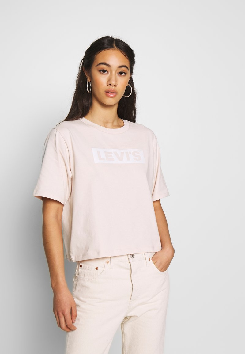 Levi's® - GRAPHIC BOXY TEE - T-shirt imprimé - peach blush