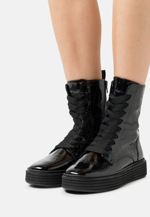 Platform ankle boots - giant