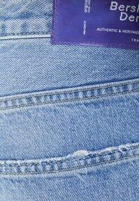 Bershka - Jeans Tapered Fit - blue denim - 5