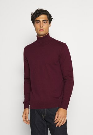 BURNS - Strickpullover - zinfandel