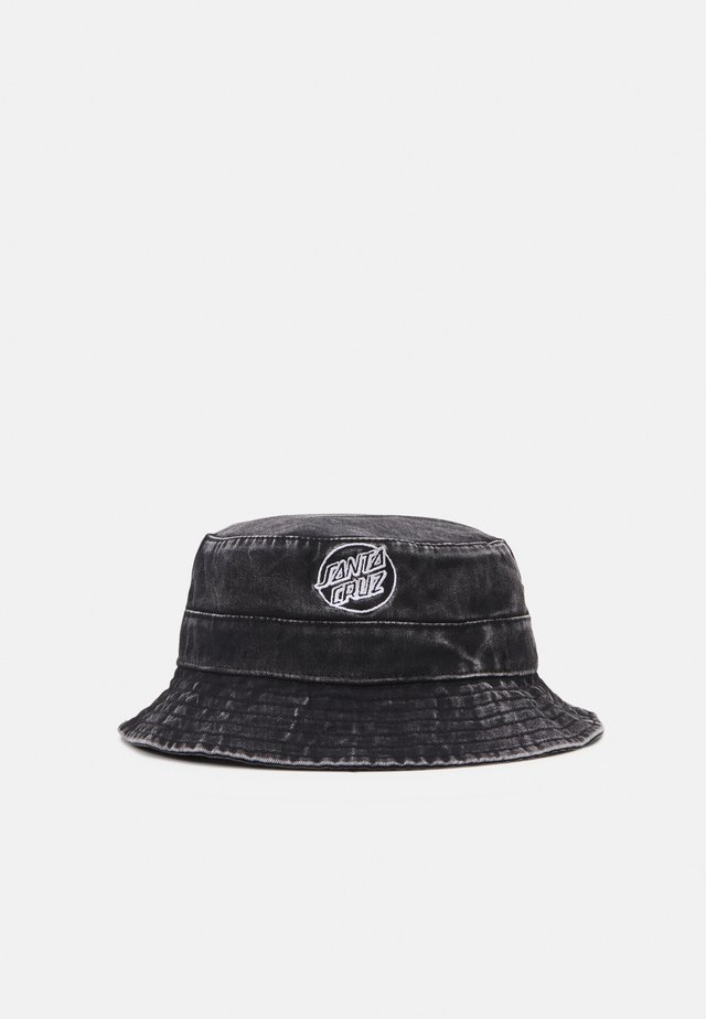 OPUS DOT BUCKET HAT UNISEX - Hat - black