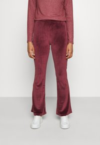 ONLY - ONLTAMMY FLARED PANTS - Trousers - port royale - 0