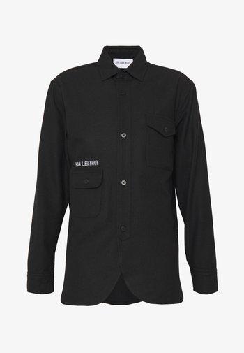 ARMY SHIRT - Shirt - black