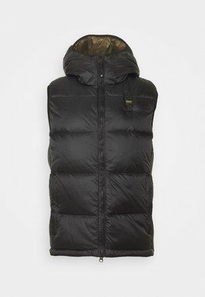 SMANICATI IMOTTITO  - Waistcoat - black