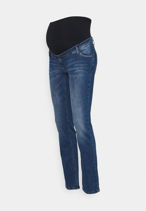 JEANS GRACE - Jeansy Straight Leg - stone wash