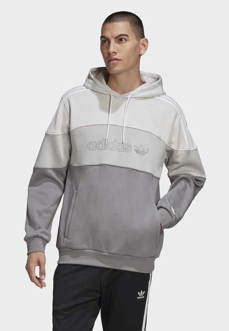 adidas Originals - BX-2O HOODIE - Hoodie - grey