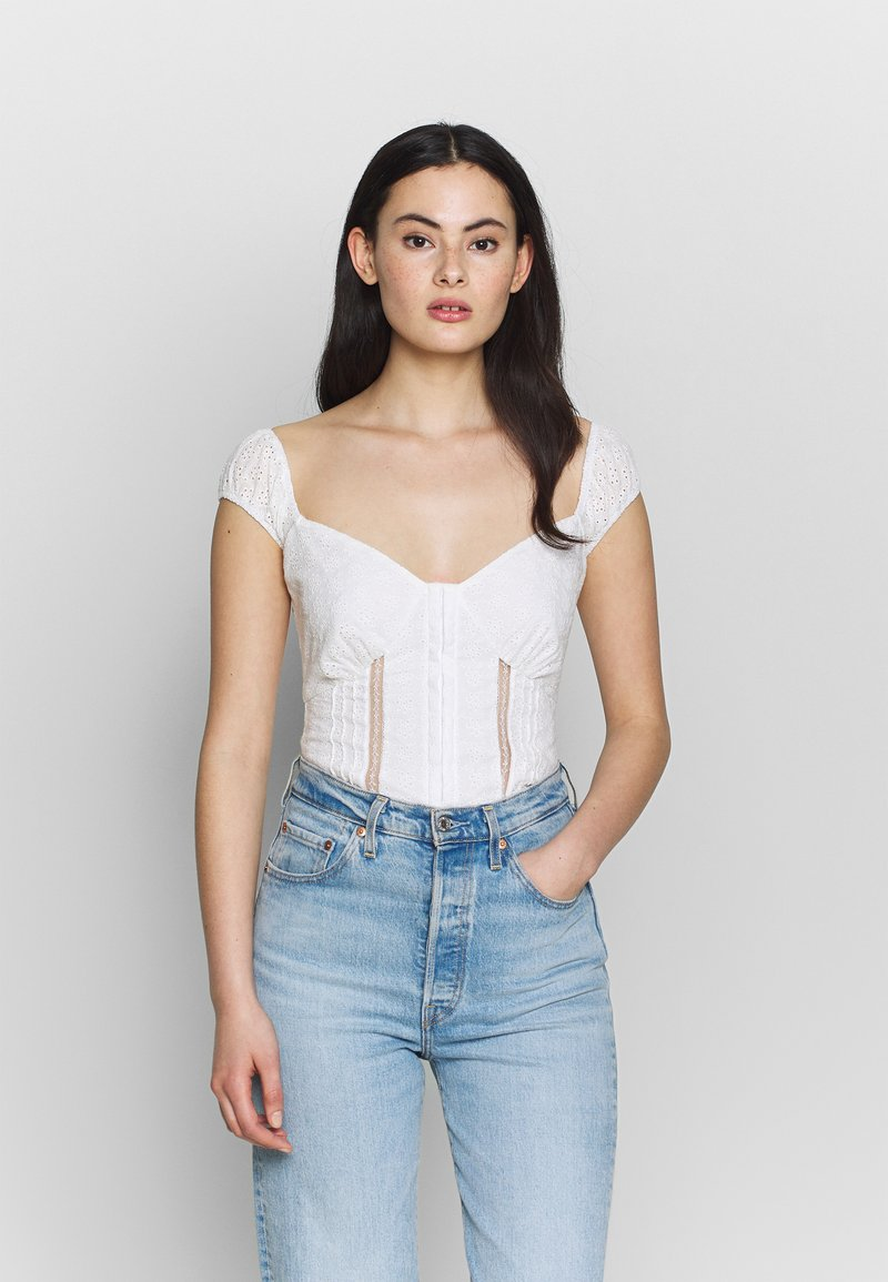Fashion Union - MERRIE - Bluser - white