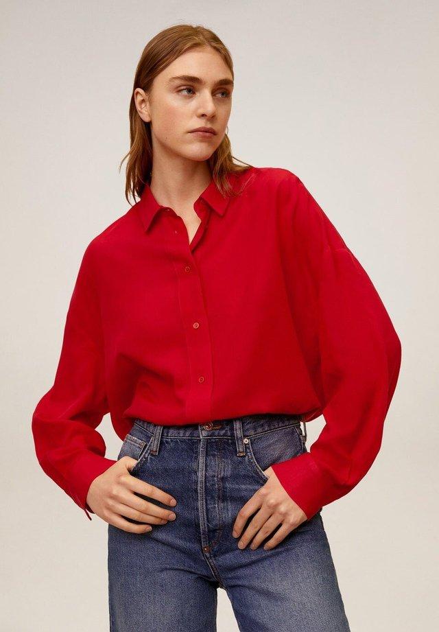 RORO - Button-down blouse - rot