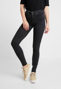ONLY - ONLPOWER MID PUSH UP - Jeans Skinny - medium grey denim - 0